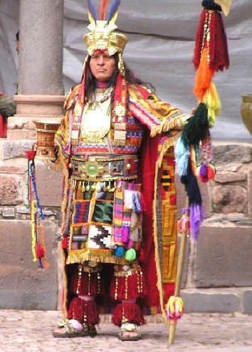 Inca Nobility Was Dressed Nicer And Their Customs Were