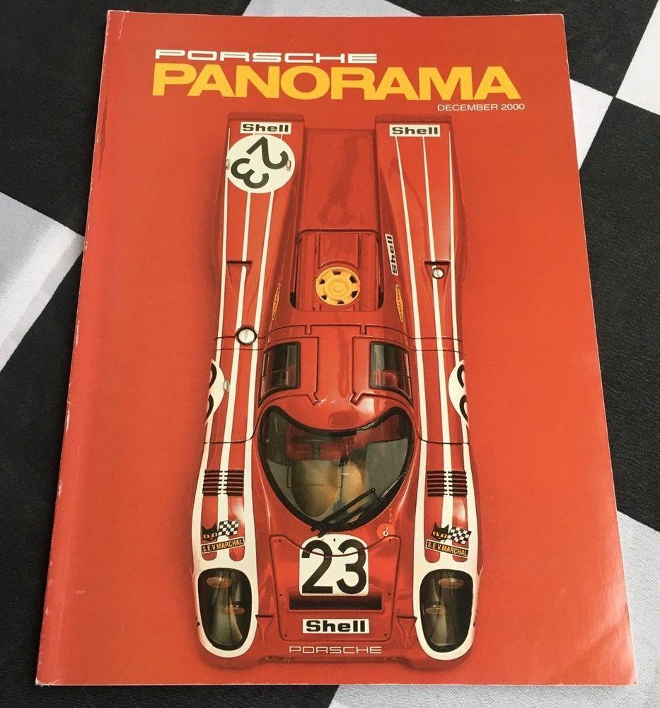 Panorama Porsche Car: Details About PANORAMA PORSCHE USA MAGAZINE DECEMBE 2000