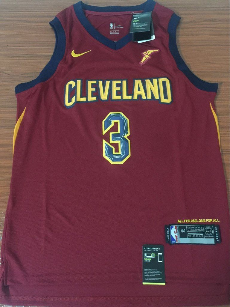 best cheap 3693a 75303 Men 3 Isaiah Thomas Jersey Red Cleveland Cavaliers Jersey ...