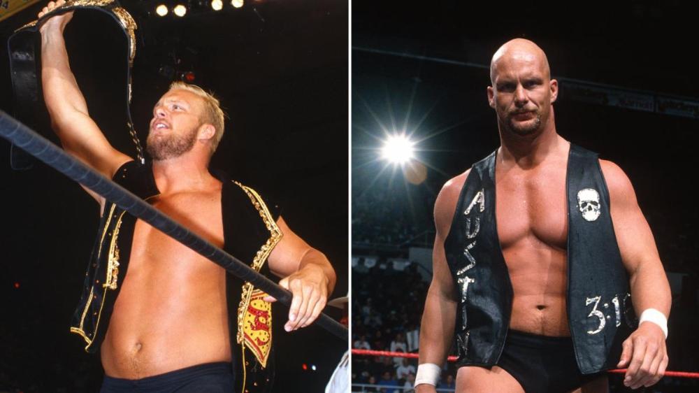 Photos When Superstars Drastically Changed Their Looks Superstar Photo Steve Austin
