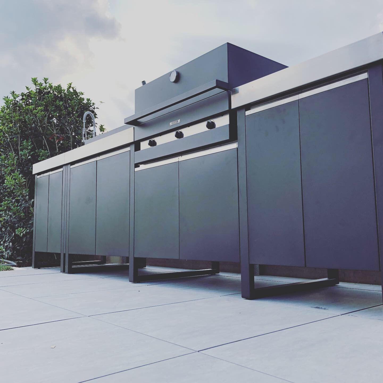 Cucine Da Esterno Prezzi cucina da esterno #modulare in acciaio inox made in italy
