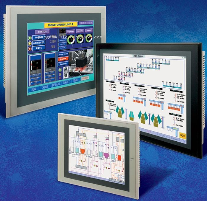 NS Series Omron HMI Touch Screen allow the users to create