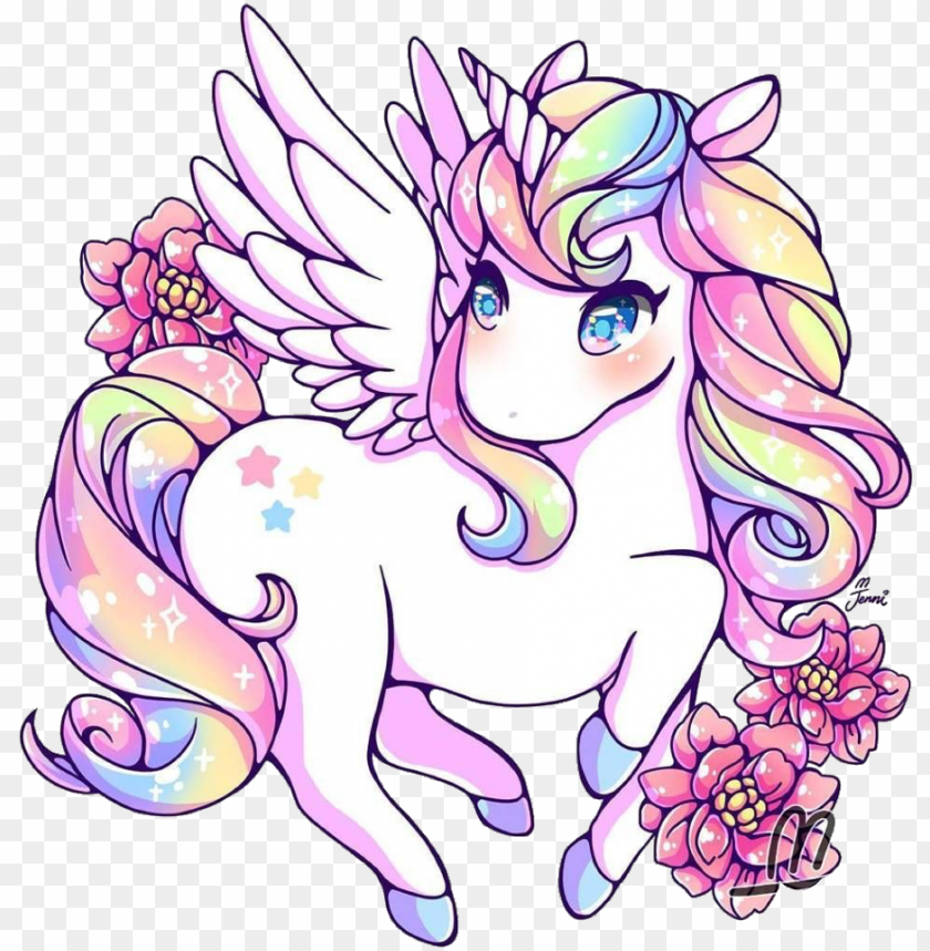 Unicorn Rainbow Rainbowunicorn Kawaii Cute Cute Rainbow