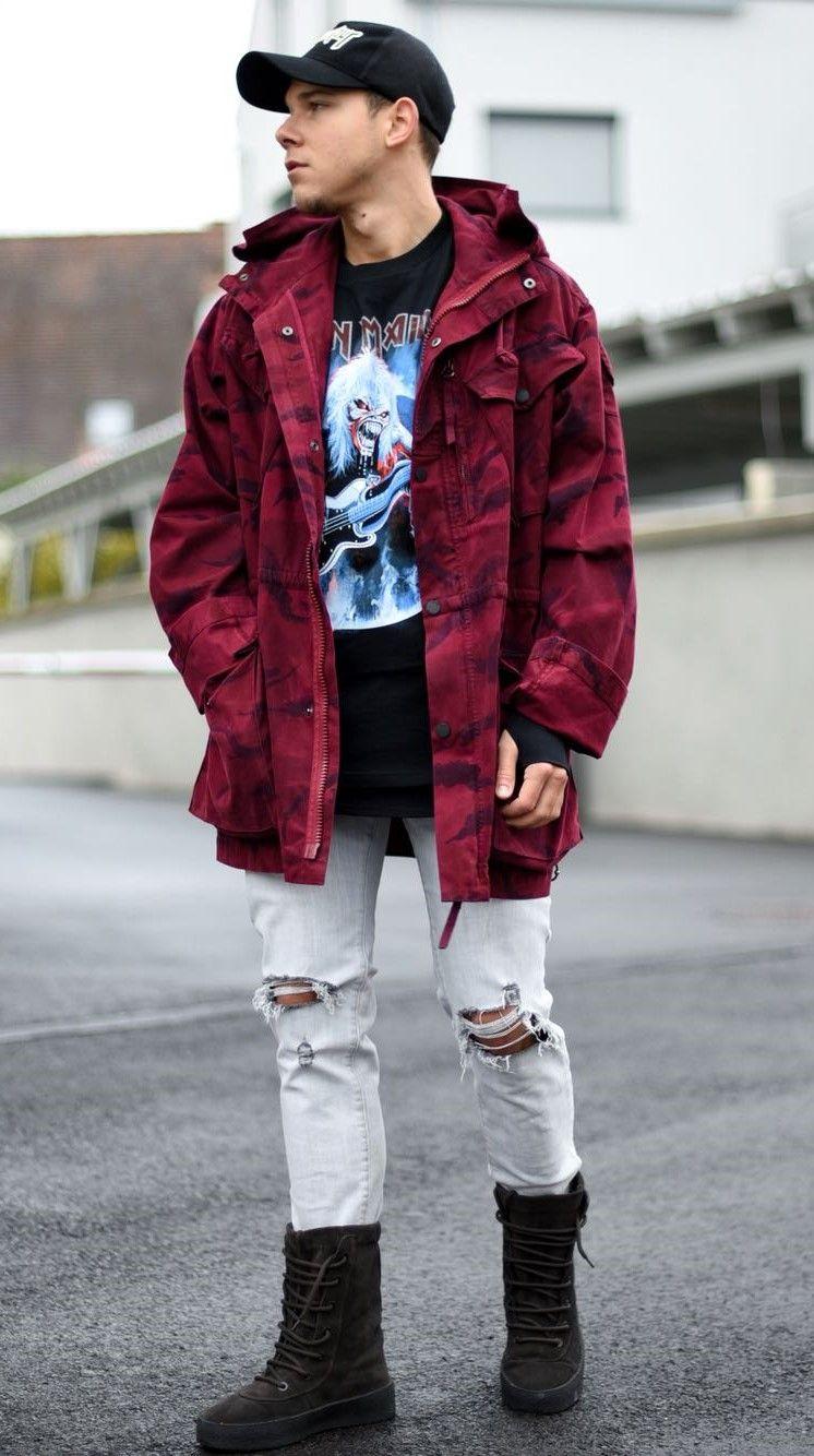 8a22c6cc jacket by @maharishi [qualification]]   Street Clean   Mens fashion ...