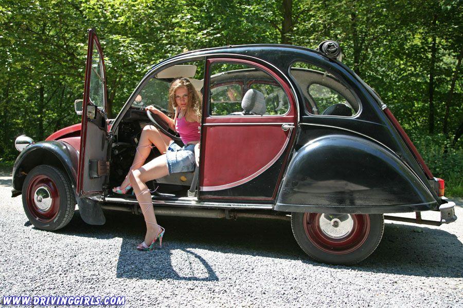 The french Citroën 2 CV (\