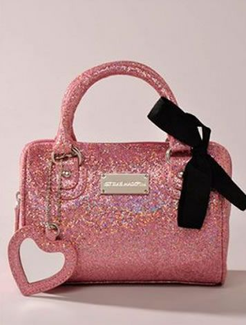 c20db65416 Steve Madden Mini Pink Glitter Handbag | Back to school stuff ...