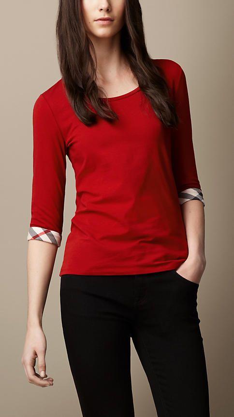 453de64e29a4 Women's Sweatshirts & T-shirts | Burberry | ♛Dream Closet ...