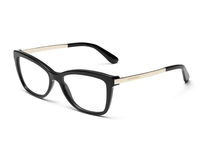 Women S Black Eyeglasses With Square Frame Dolce Gabbana Dg3218