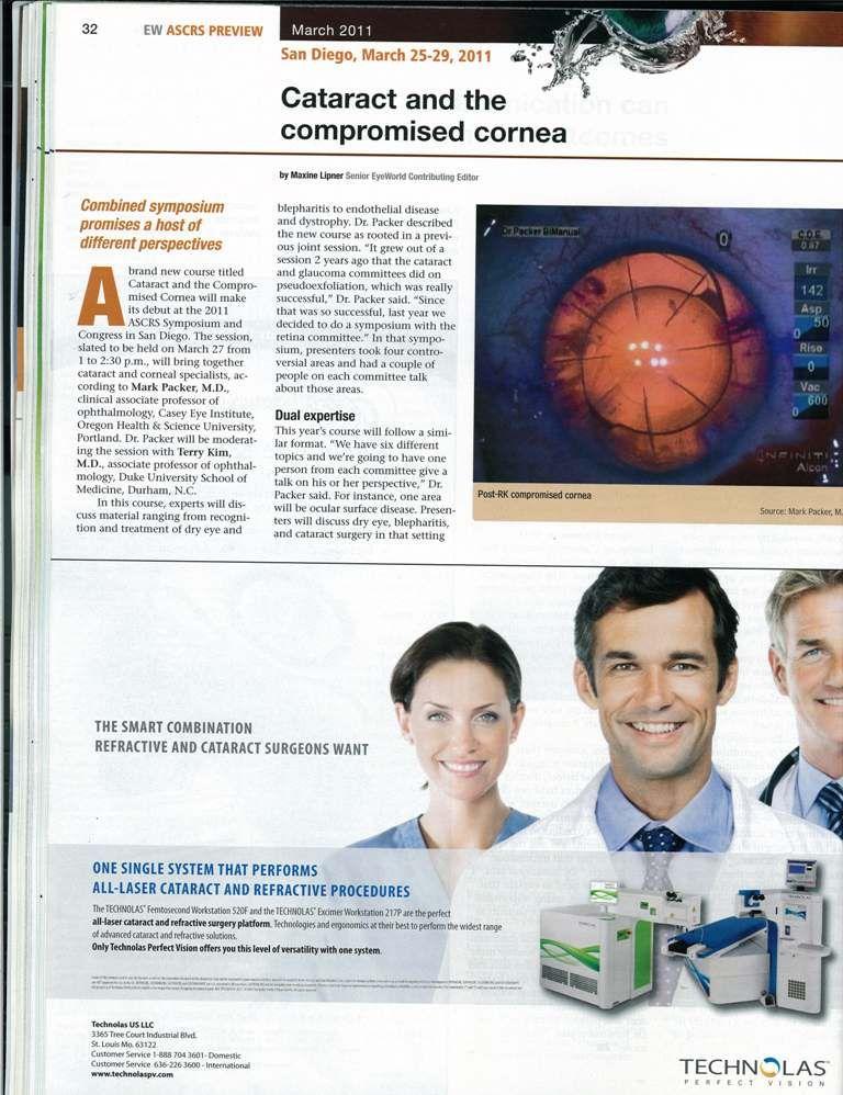 TECHNOLAS. The smart combination refractive & cataract