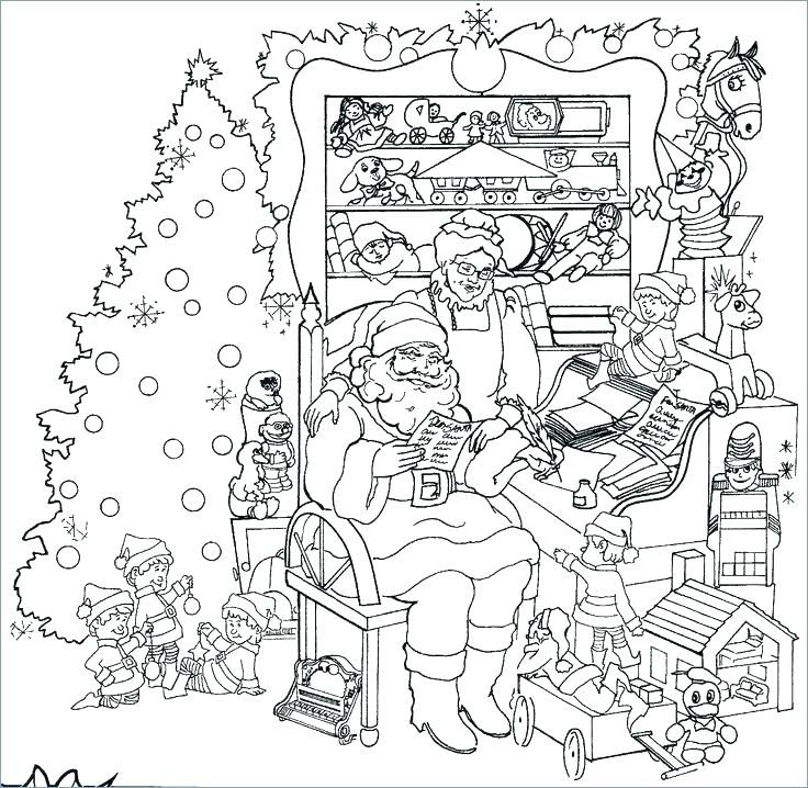 Christmas Coloring Sheets For Kids Related Post Free