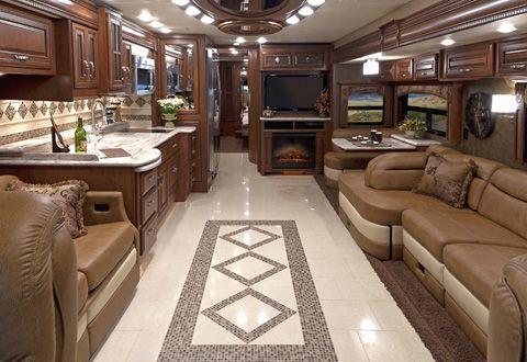 Entegra Anthem Coach Luxury Rv Living Trailer Interior Travel Trailer Interior