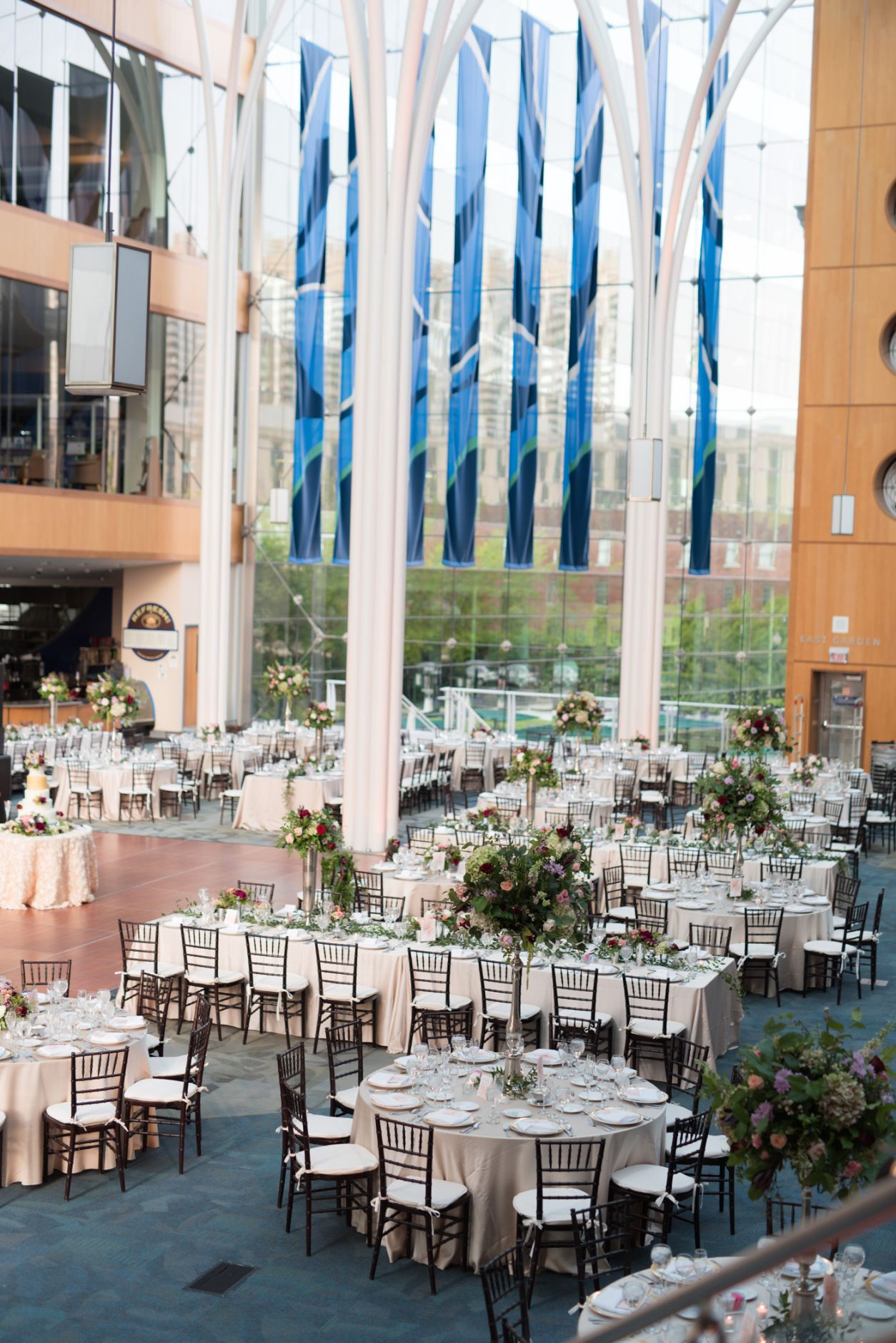 Lauren And Matt S Indianapolis Central Library Wedding Reception