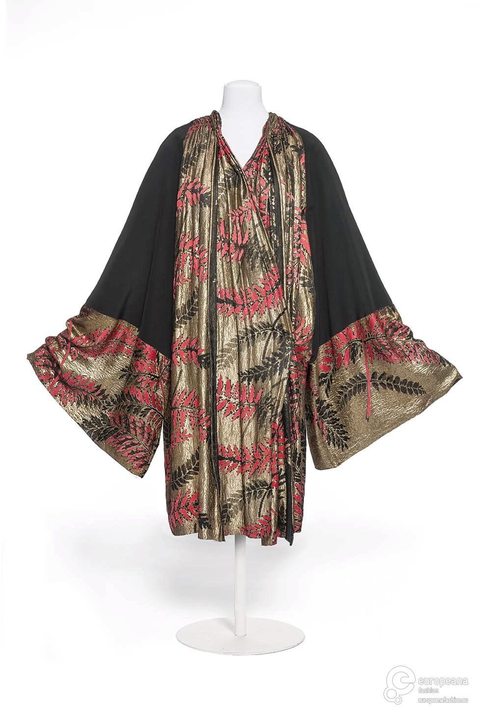Casanova evening silk coat,Callot Soeurs,1925