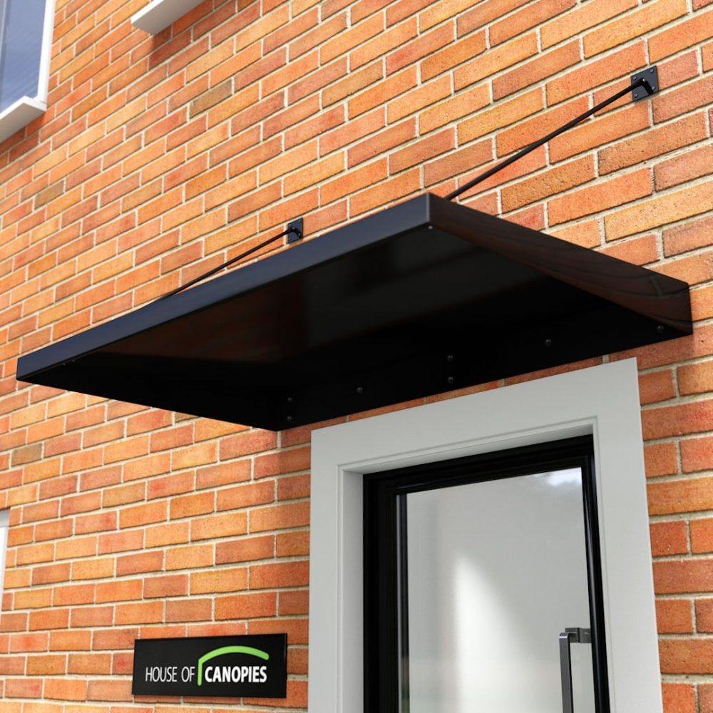 Metal Door Canopy Type L Dda Act Compliant Door Canopy Metal Door Canopy Metal Awning