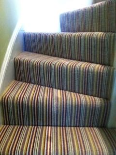 Best Crucial Trading Mississippi Lime Red Carpet Stairs 400 x 300