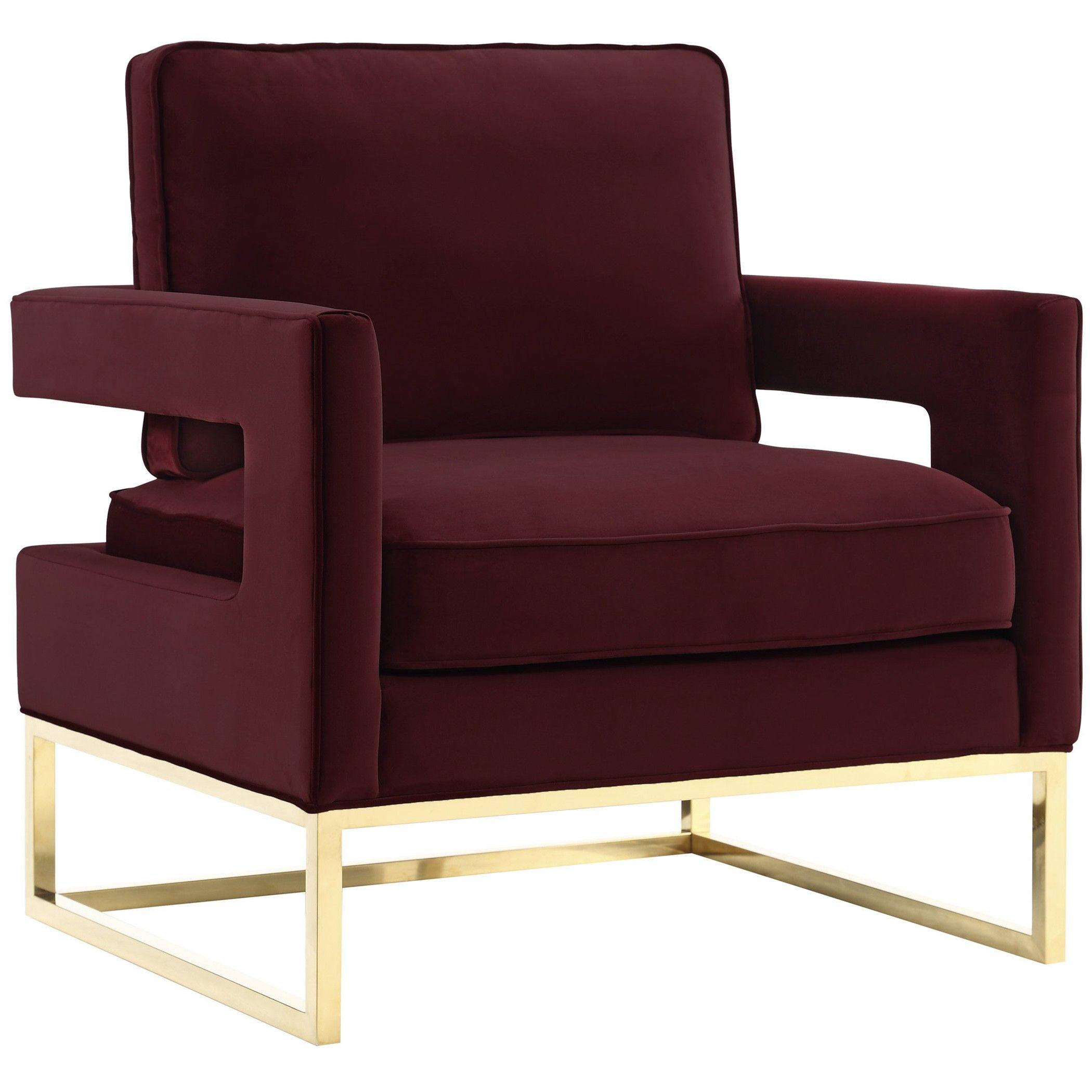 Velvet Armchair, Accent Chairs, Chair