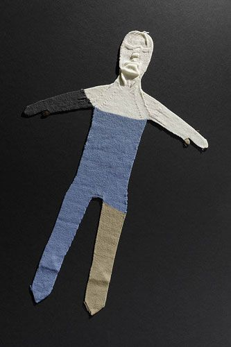 The Perfect: Alex, 2007 machine knitted wool and acrylic yarn (knitted on a Shima Seiki 122 S 10 gauge)