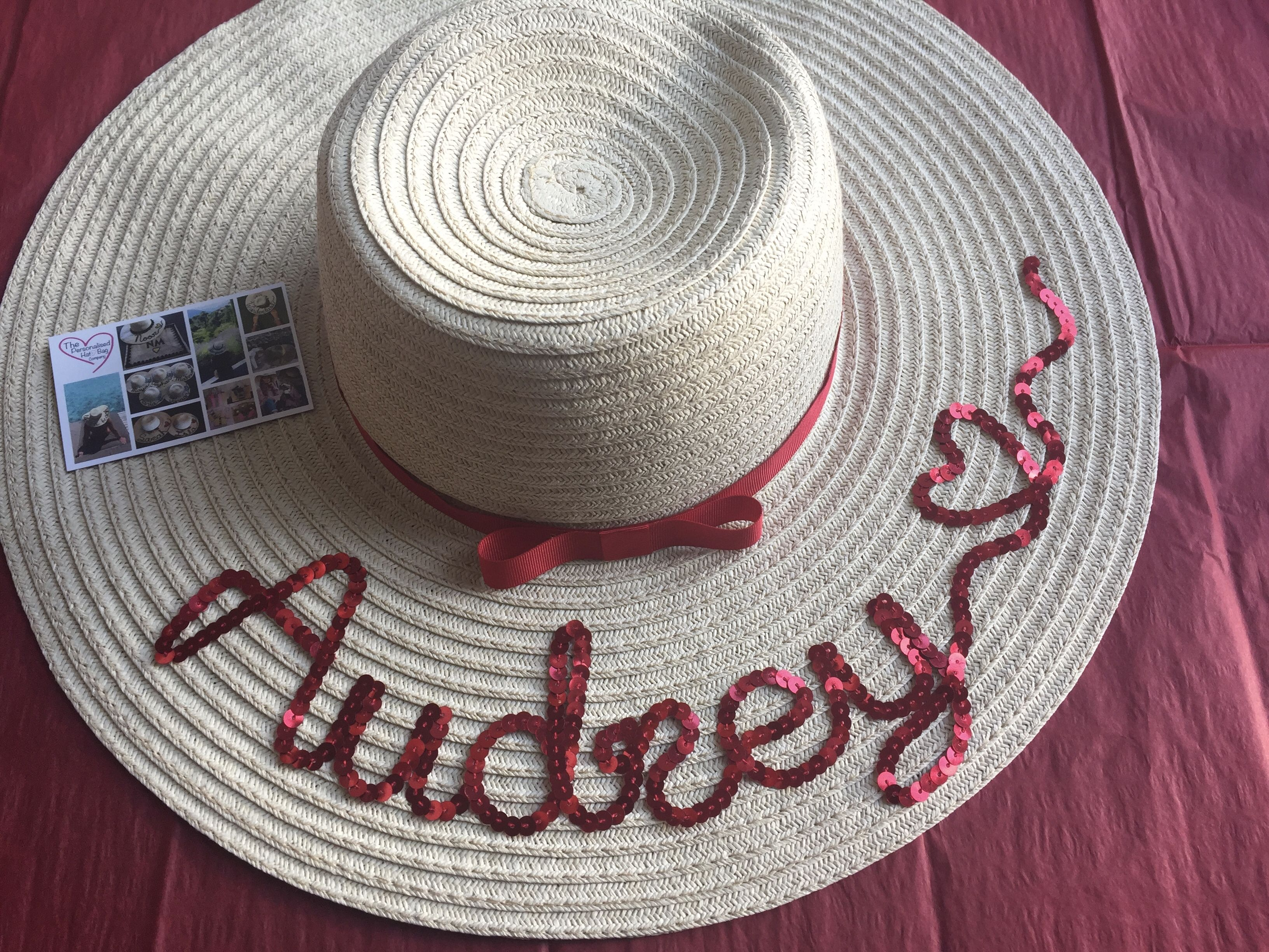 Find this Pin and more on The Personalised Hat Bag Company by  melanieclaireva. 78317ae774d