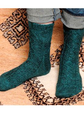Gordes Socks  from the eBook  Silk Road Socks eBook     Adobe® Acrobat® required.  Please note: Downloadable eBooks do not qualify for Free Shipping.  After ordering an eBook you will receive a download link in your order confirmation email.