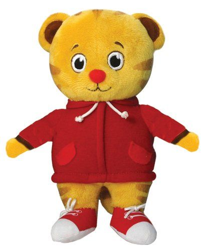 Amazon.com : Daniel Tiger's Neighborhood Daniel Tiger Mini Plush : Plush Animal Toys : Toys & Games