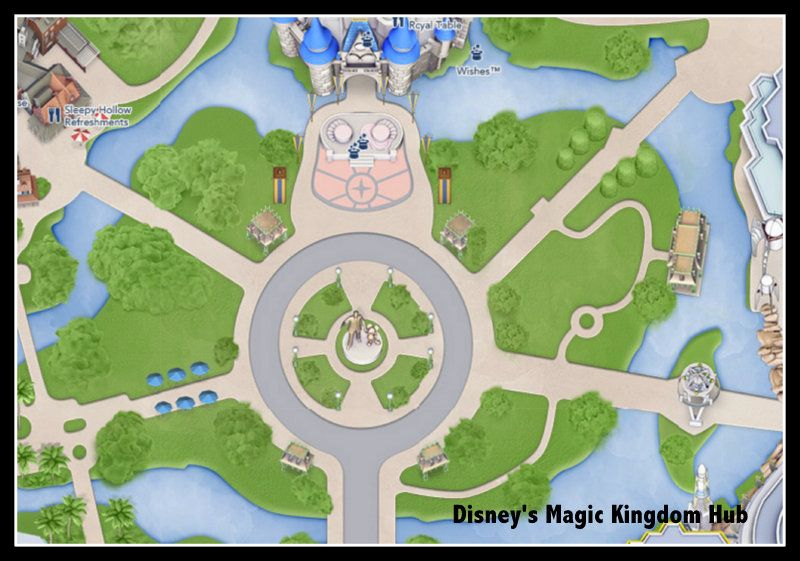 Making a Disney World Scrapbook? Get These Disney Google Maps for ...