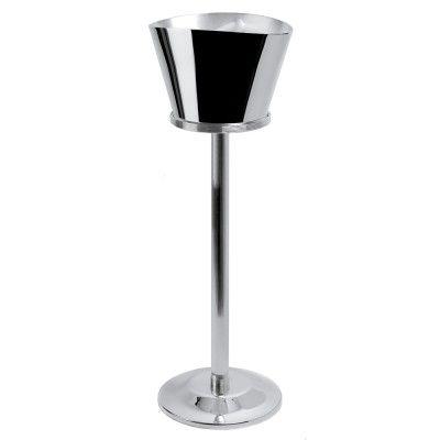 CHRISTOFLE K+T   Champagnerkühler mit Ständer   versilbert