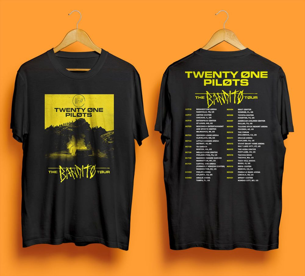 c3450639 Twenty One Pilots Shirt New Album Trench US Tour Date 2018 United States  T-shirt #fashion #clothing #shoes #accessories #unisexclothingshoesaccs ...