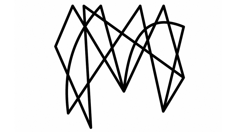 This Logo Is Just A Bunch Of Squiggly Lines And It S Perfect Logo Design Love Graphic Design Logo Branding Design Logo