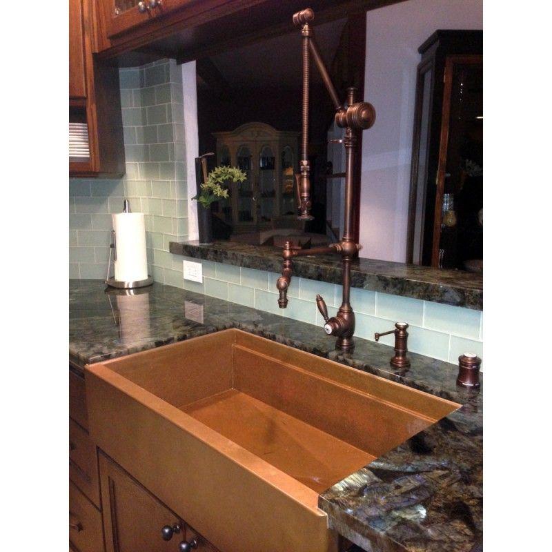 4410-18 Towson Gantry Kitchen Faucet | Steampunk Kitchen Ideas ...