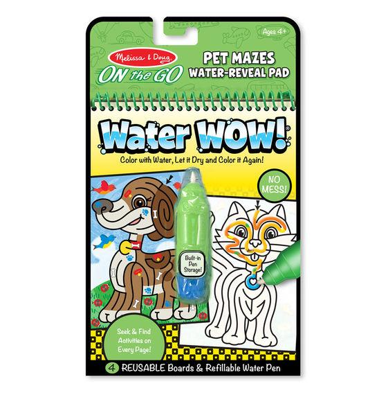 Water Wow Pet Mazes Book Activities Gifts For Girls Travel