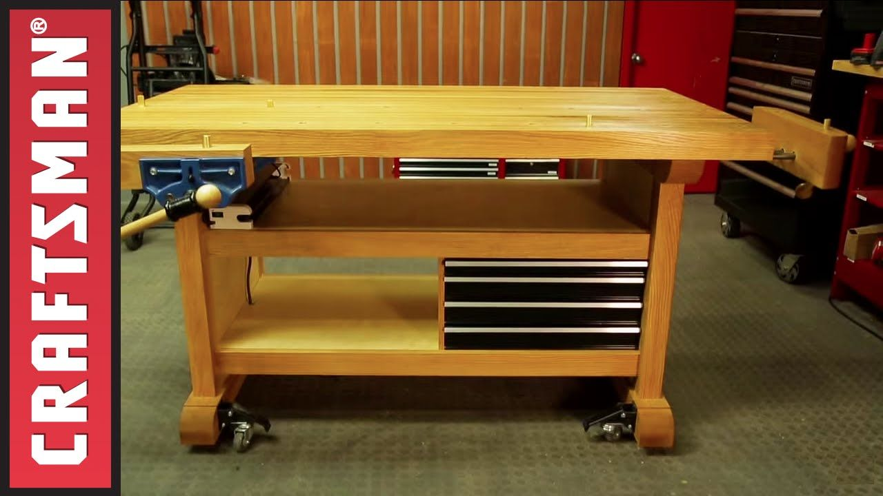 How To Build A Workbench For Your Garage