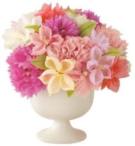 Martha stewart crafts vintage girl tissue paper flowers mothers these vintage girl tissue paper flowers from martha stewart will brighten the room long after your party guests leave these tissue flowers will help you mightylinksfo