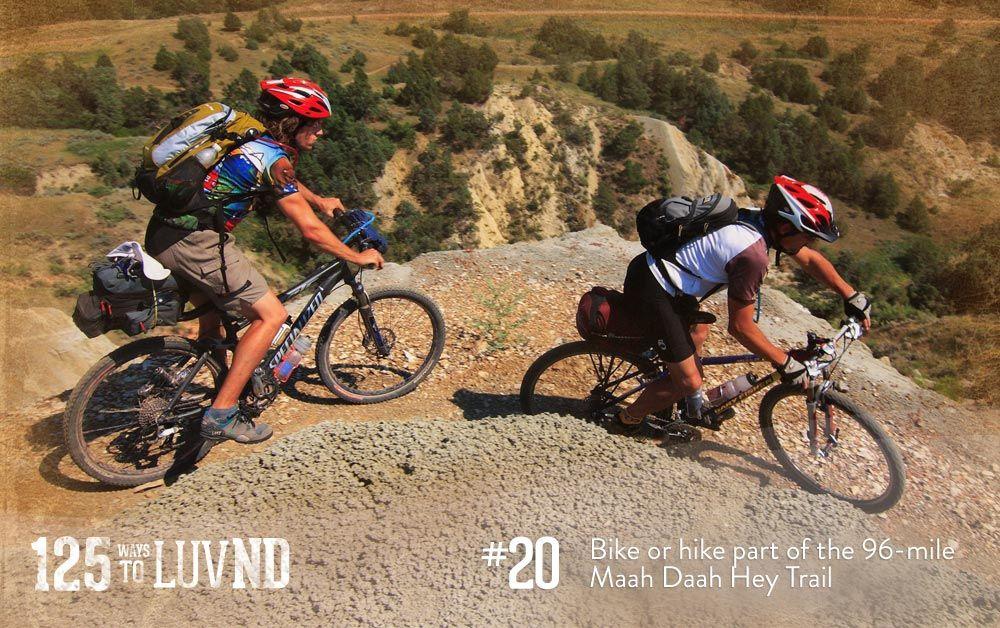 Bike Or Hike The 140 Mile Maah Daah Hey Trail Near Medora 125
