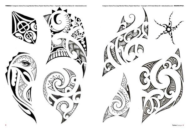 Tattoo Flash Book №1 - Tribal Style