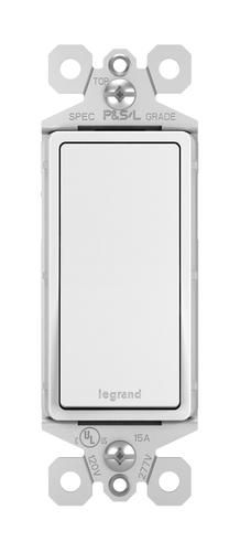 Legrand® TradeMaster® Décor Single-Pole Switch at Menards®: Legrand® TradeMaster® Décor Single-Pole Switch