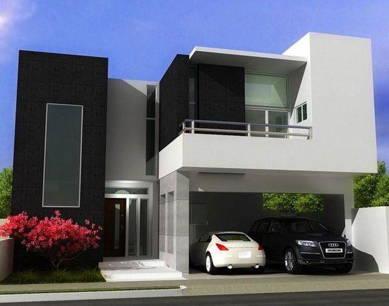 casa 14 Casas modernas Pinterest Fachadas minimalistas - casas minimalistas