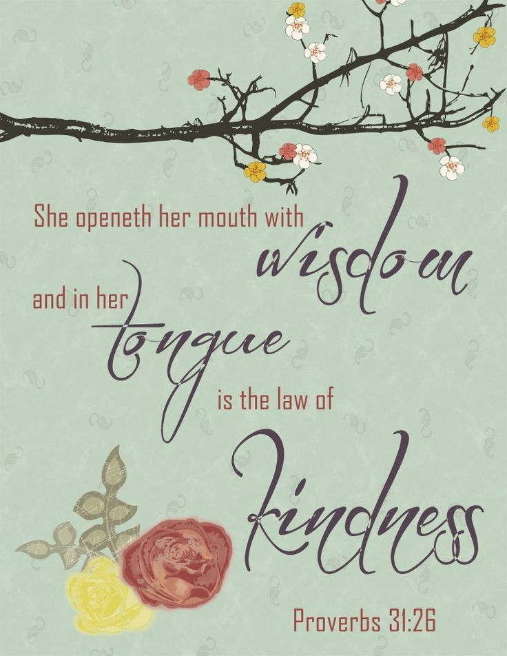 the law of kindness printable scripture verses scripture