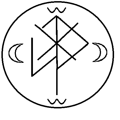 Rune Sigils — Sleep sigil for insomnia and nightmares  No