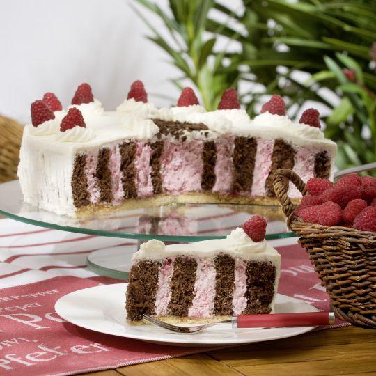Himbeersahnetorte Rezept Pinterest Kuchen Torten Und