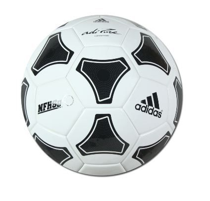 Adidas Adipure Nfhs Competition Soccer Ball Black White Soccer Soccer Balls Soccer Ball