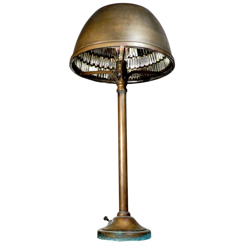 1911 I.P. Frink Bronze Bank Desk Lamp | Desk lamp, Desks and ...