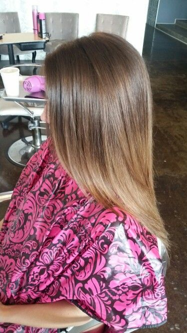 Beautiful natural ombre