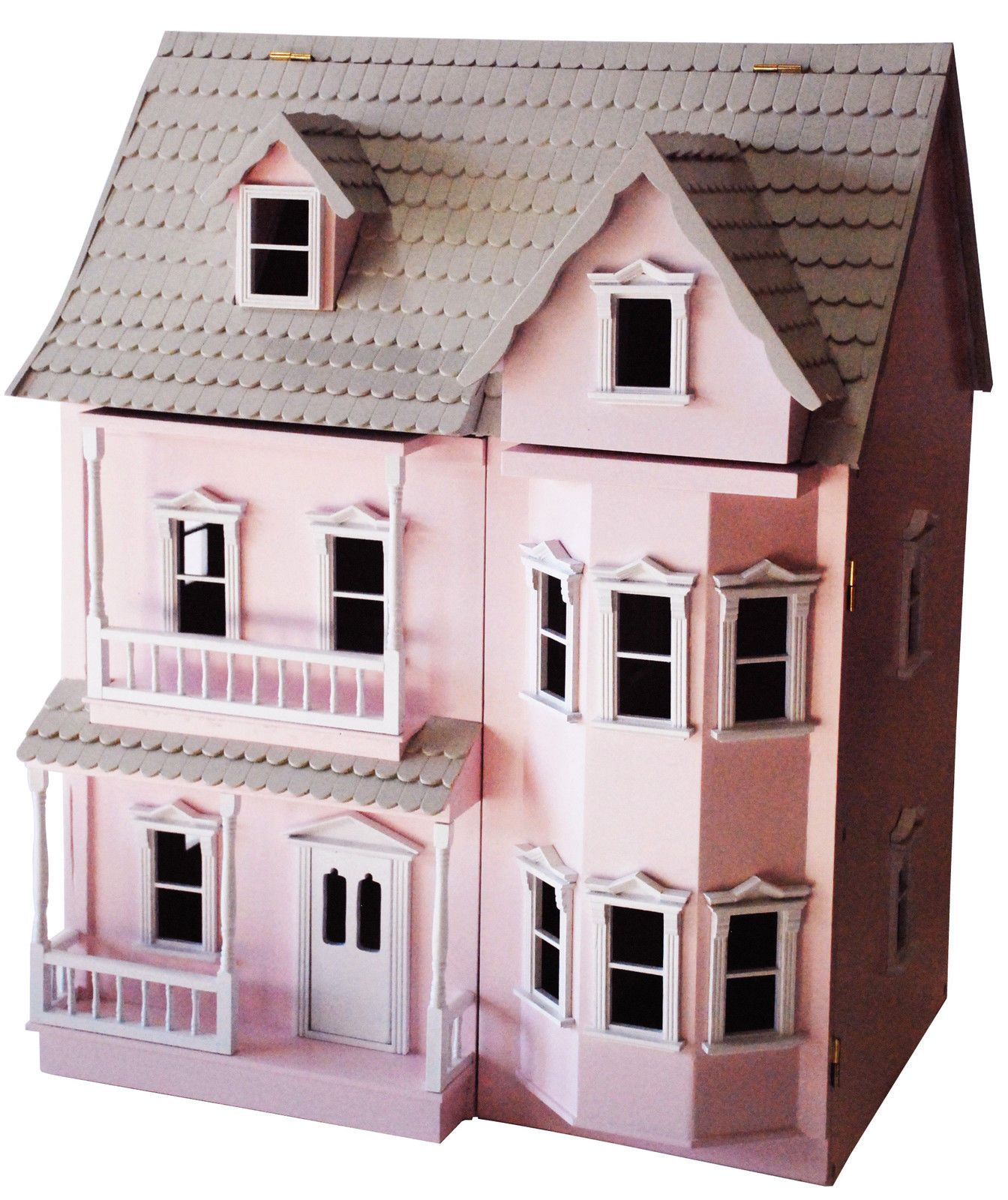 Pink Wooden Victorian Dollhouse High Quality On Sale Ebay Gifts
