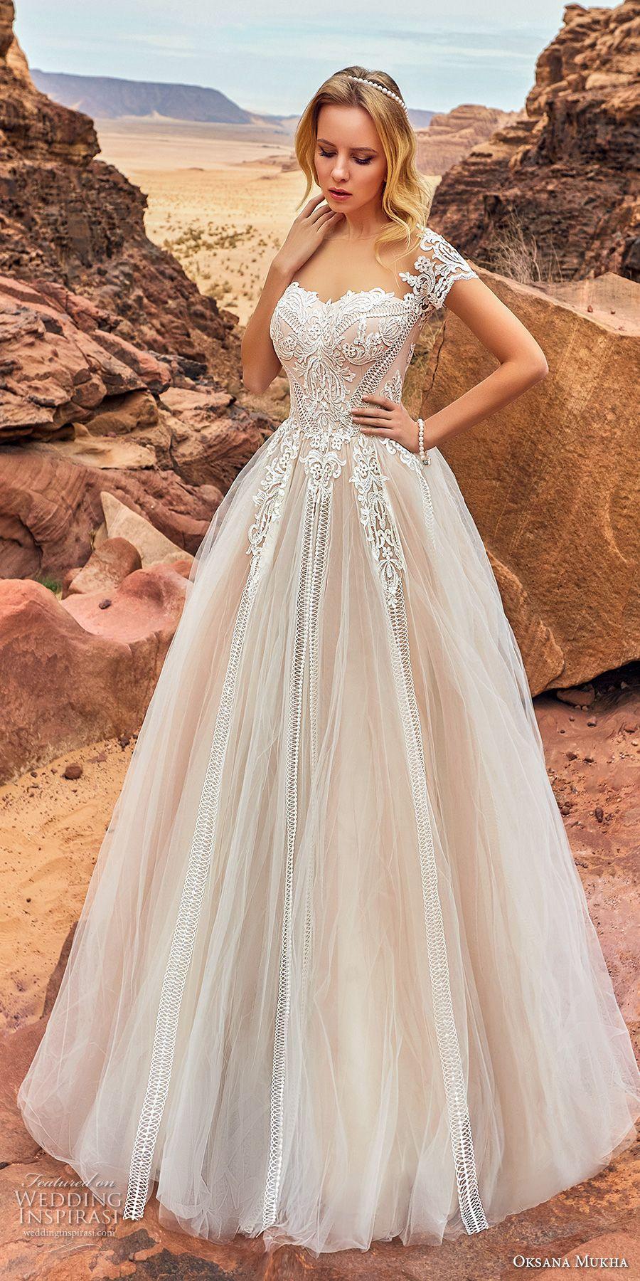 Oksana mukha wedding dresses to be romantic and the oujays