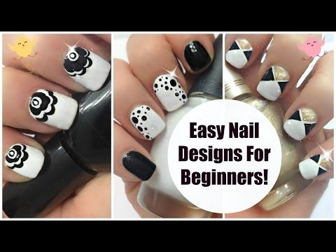 easy nail art for beginners 3 classic  love this nail