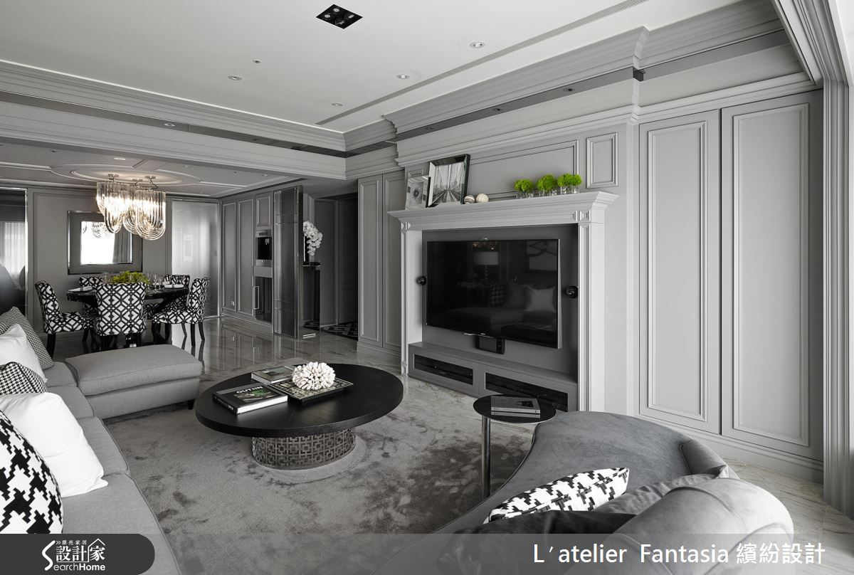 L Atelier 50 l′atelier fantasia 繽紛設計 新古典設計案例繽紛_31 | luxury