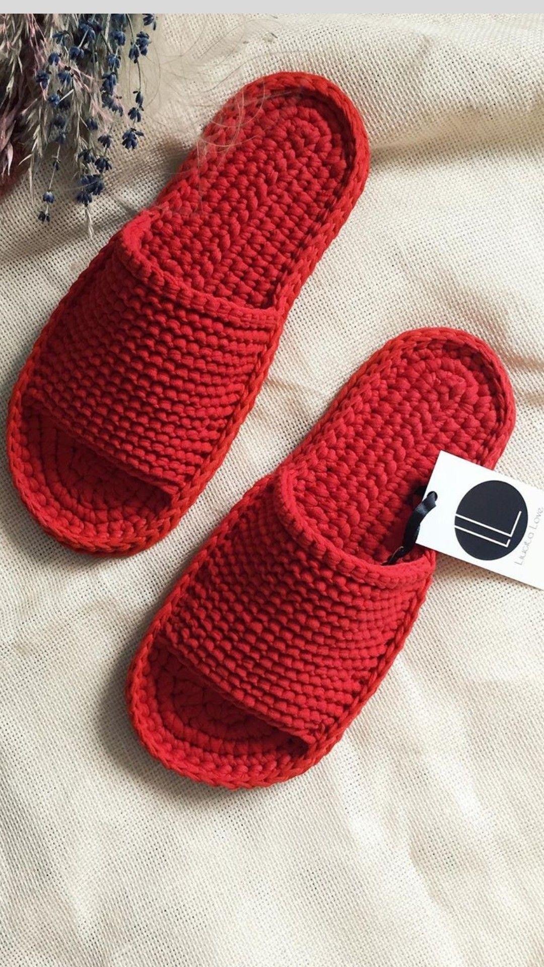 Photo of Crochet slippers