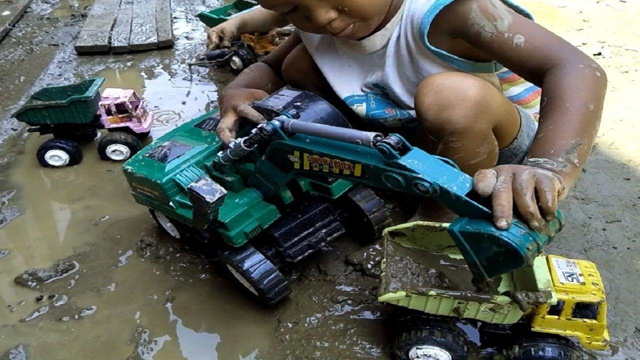 Truk Mainan Anak Bermain Mobil Mobilan Mainan Anak Anak Mainan Anak Anak Dan Truk