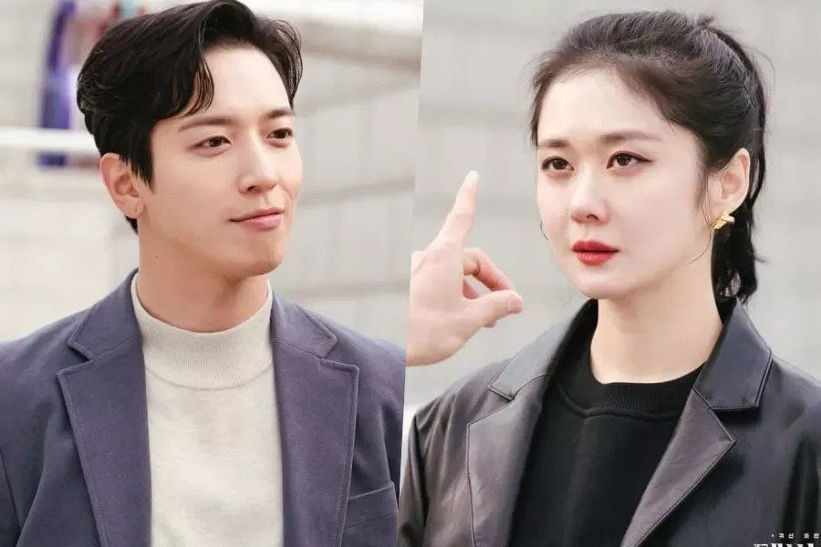 """CNBLUE's Jung Yong Hwa Is Unfazed By Jang Nara's Icy Glare In """"Sell Your Haunted House"""""""