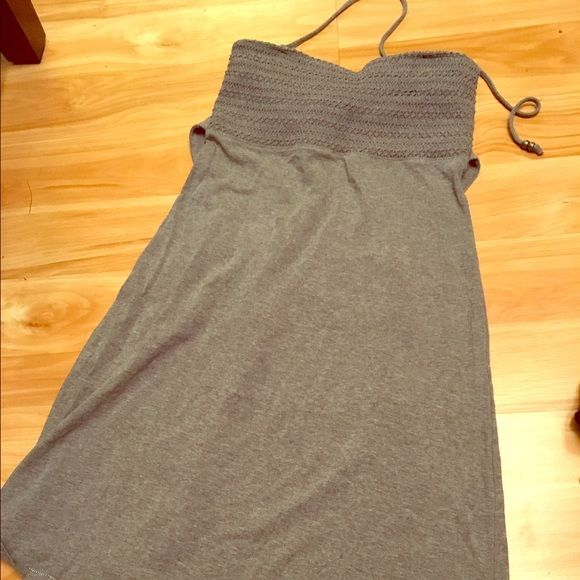Casual stretch dress Casual stretch dress. Great to wear over a swimsuit American Eagle Outfitters Dresses Mini